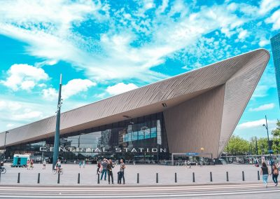 Visit Rotterdam's famous train station